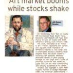 Art market booms while stocks shake