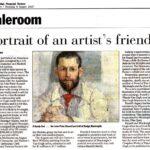 Portrait of an artist's friend