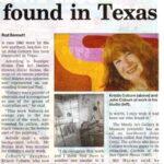 """""""Aussie art gem found in Texas"""""""