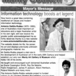 Mayor's message – Information technology boosts art legend