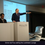 Australian world record price at Phillips de Pury's New York evening art auction: Mark Newson's Lockheed Lounge sells for US $ 2.098 million