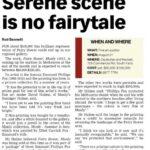 Serene scene is no fairytale