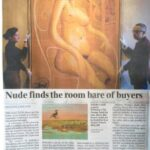 Nude finds the room bare of buyers