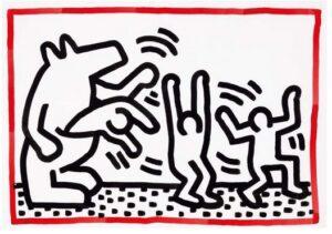 Lot 52 Keith Haring