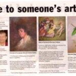 Close to someone's art