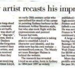 Sydney artist recasts his impression