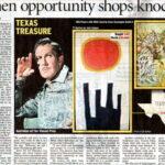 """When opportunity shops knock"""