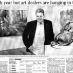 'Tough year but art dealers are hanging in there'
