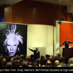 Sothebys New York Contemporary Evening Auction: High Flying Continues with Iconic Warhol Self Portrait doubling its high estimate, selling for US $ 32.562 million