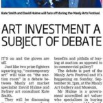 Art Investment a Subject of Debate