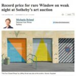 Record Price for rare Window on weak night at Sotheby's art auction