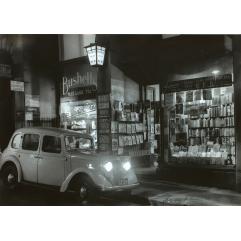 Lot 12 - Max Dupain, Gilmore's Bookshop, Bond Street, Sydney 1936, est. $3,000-$5,000. E-Book - what's that?