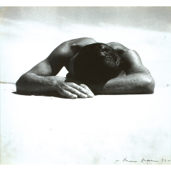 Lot 16 - Max Dupain, Sunbaker 1937, est. $15,000-$20,000. Bakin'