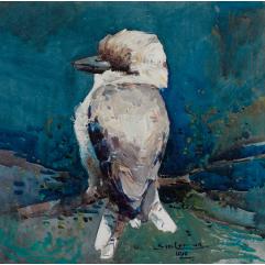 Lot 12 Sydney Long Kookaburra