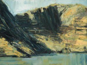 Lot 30, Euan MacLeod, From Diamond Harbour 1996, est. $700-1,000. Harbouring Desires