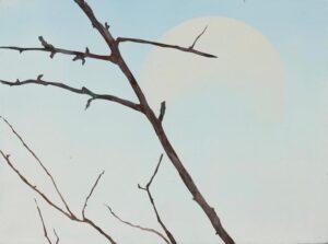 Lot 138, Henry Mulholland, Bowral Moon 2005, est. $300-500. Moonshine