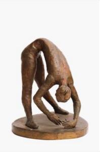 Lot 148, Guy Boyd, Ballet Dancer Bending, est. $3,000-5,000. Bend for Boyd