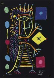 Pablo Picasso lot 168