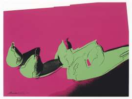 Andy Warhol lot 120