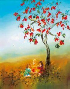 Lot 222 - David Boyd, The Flame Tree, est. $14,000-18,000. Best Boyd Buy