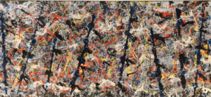 """Don't Believe the Polls - Except This One: Jackson Pollock """"Blue Poles"""", 1952"""