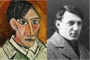 Selfie Meister - Pablo Picasso