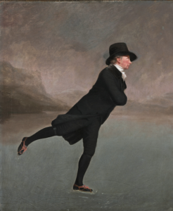 """A Tribute to one of our most beloved clients,  The Reverend Jane- Henry Raeburn """"The Reverend Robert Walker Skating on Duddingston Loch"""""""