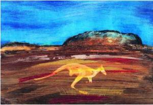 Lot 179 Kangaroo Ayers Rock