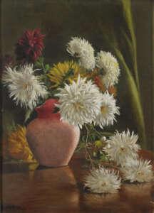 May Gibbs Flower still life