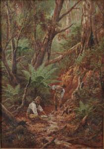 James Alfred Turner Australian artist painting