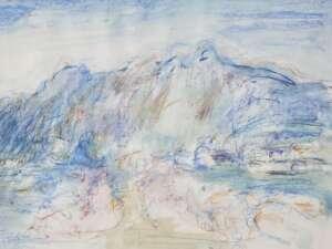Lloyd Rees Australian artist landscape painting