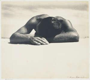 Max Dupain Australian photographer Sunbaker