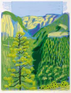 David Hockney, Yosemite Series