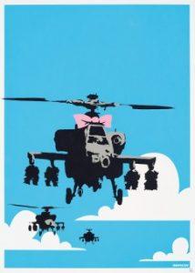 Banksy Happy Choppers print