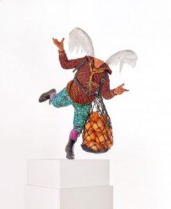 Yinka Shonibare sculpture