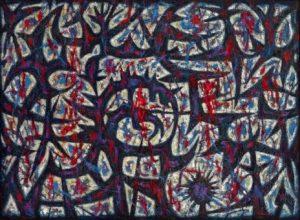 John Coburn abstract painting